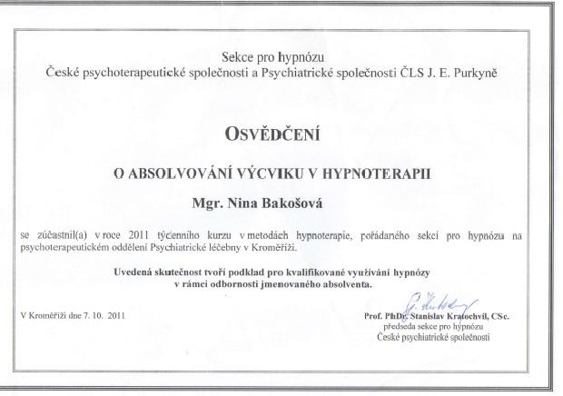 Psychologie a psychoterapie